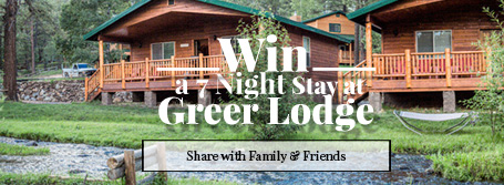 Greer Lodge Resort & Cabin - 2017 Cabin Giveaway!