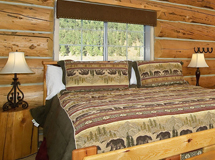 Log Motel Room