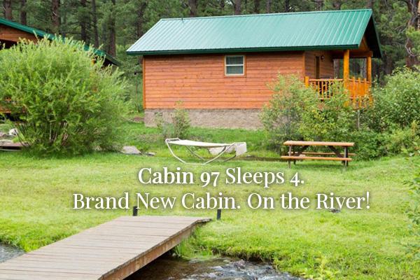 Cabin 97 Sleeps 4
