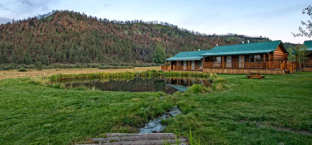 Log Motel Rooms Greer Lodge Arizona