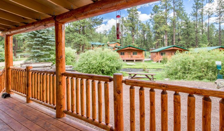 88 cabin sleeps 6 greer lodge arizona for Cabins to rent in greer az