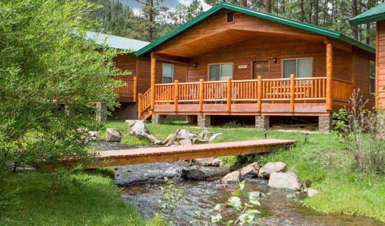 96 cabin sleeps 6 greer lodge arizona for Cabins near greer az