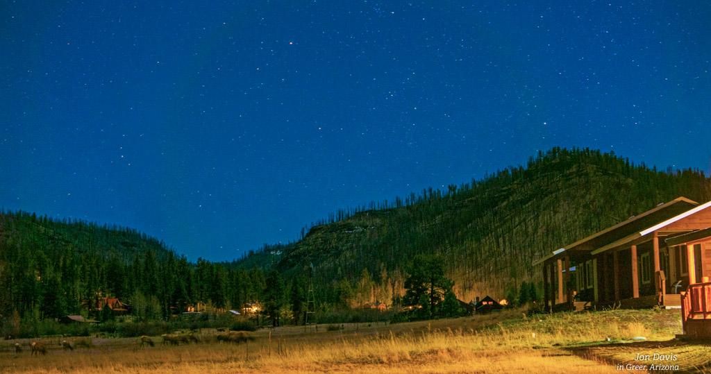 Star Gazing, Greer Lodge Arizona