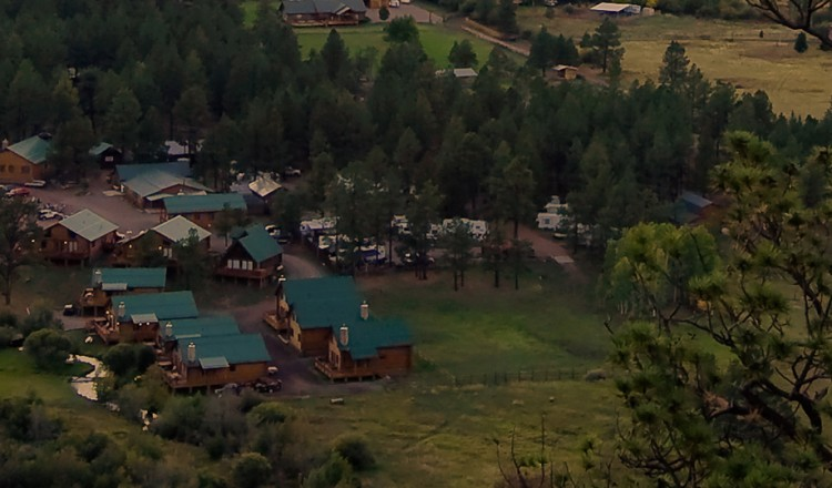 Greer Lodge Aerial