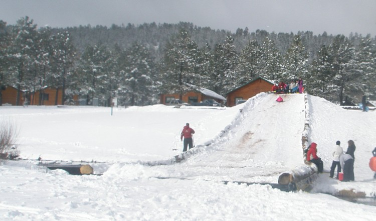 Sledding - Greer Lodge AZ