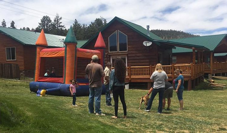 Jumpy House at Greer Lodge