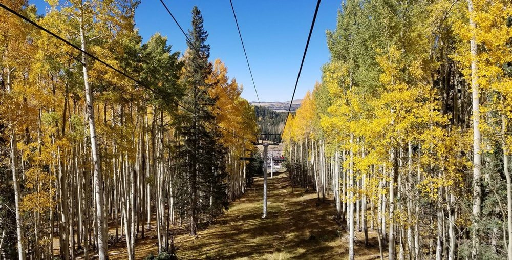 Fall Season Scenic Lift Rides