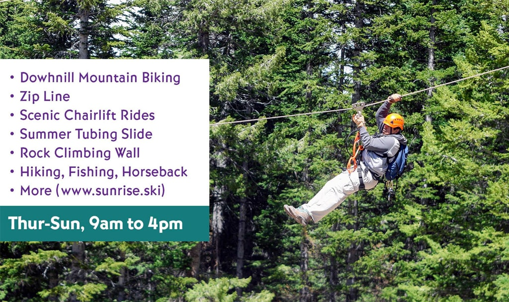 Summer Adventure 2021 at Sunrise Ski Park